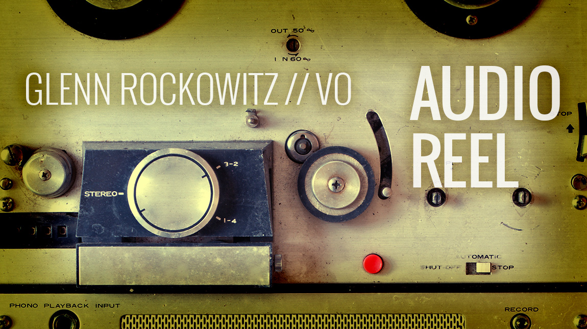 Glenn Rockowitz Audio Reel